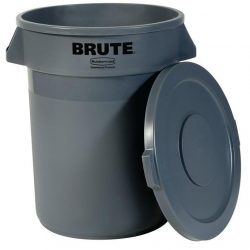 Rubbermaid Round Brute Containers