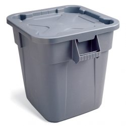 Rubbermaid Square Brute Containers