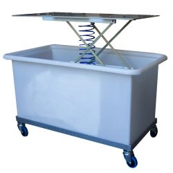 LAUNDRY TROLLEYS - LINEN TROLLEYS - CLEANING TROLLEYS
