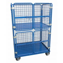 STOCK TROLLEYS - SUPERMARKET TROLLEYS - ORDER PICKING TROLLEYS