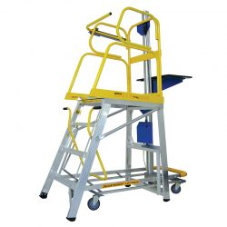 STOCKMASTER LIFT TRUK PLATFORM LADDER