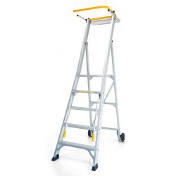 STOCKMASTER ONMI PRO MOBILE PLATFORM LADDER