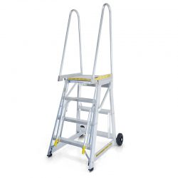 STOCKMASTER STEP THRU ACCESS PLATFORM LADDER