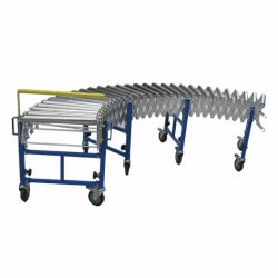 EXTENDABLE STEEL ROLLER GRAVITY CONVEYORS