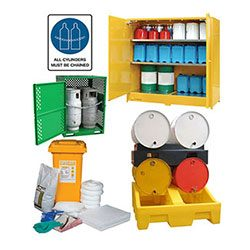 HAZARDOUS STORAGE & SAFETY SIGNS
