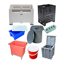 PLASTIC STORAGE CONTAINERS - PLASTIC PRODUCTS