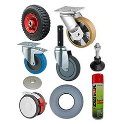 CASTORS - WHEELS - ACCESSORIES