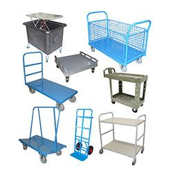 TROLLEYS - HANDTRUCKS - DOLLYS