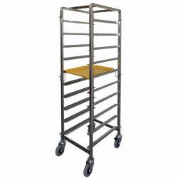 BREAKFAST TRAY TROLLEY - 10 TRAY