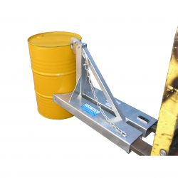 SINGLE & DOUBLE BEAK GRAB DRUM LIFTER - FORLKIFT MECHANICAL