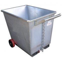 STEEL WASTE BINS