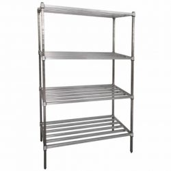 POST STYLE HEAVY DUTY DUNNAGE SHELVING