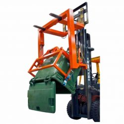 FORKLIFT ATTACHMENT FORWARD WHEELIE BIN TIPPER TYPE FWC
