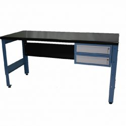 STANDARD MODULAR WORKBENCH + 2 X DRAWER UNITS