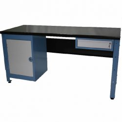STANDARD MODULAR WORKBENCH + 1 X DRAWER UNIT + 1 X CUPBOARD UNIT