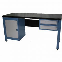 STANDARD MODULAR WORKBENCH + 2 X DRAWER UNITS + 1 X CUPBOARD UNIT