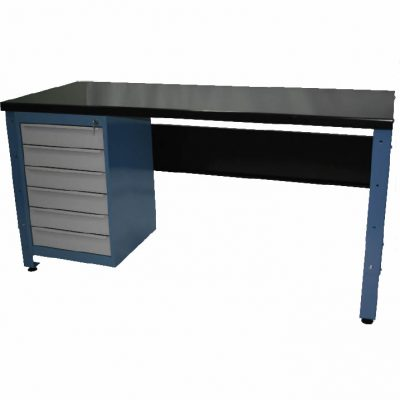 STANDARD MODULAR WORKBENCH + 6 X DRAWER UNITS