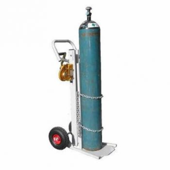 LIFTAIDE MANUAL LIGHTWEIGHT GAS CYLINDER LIFT TROLLEY (S SERIES)