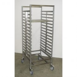 PREMIUM QUALITY FULLY WELDED GASTRONORM TROLLEY - 16 TRAY