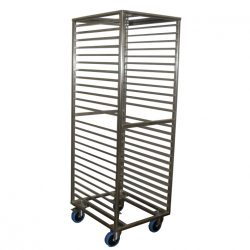 PREMIUM QUALITY FULLY WELDED GASTRONORM TROLLEY – 24 TRAY