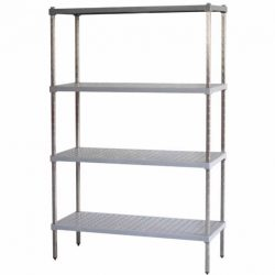 M-SPAN SHELVING - FOOD GRADE POLYPROPYLENE SHELVES