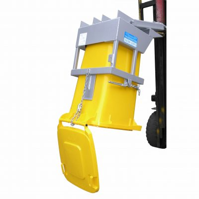 FORKLIFT ATTACHMENT WHEELIE BIN TIPPER TYPE NWB
