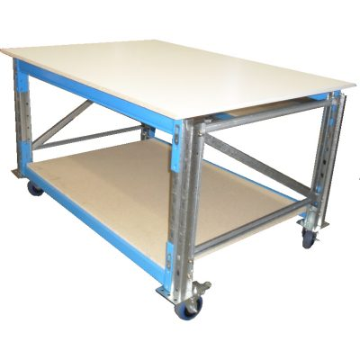 PALLET RACKING PACKING BENCHES