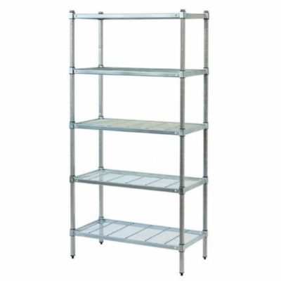 POST STYLE COOLROOM SHELVING – WIRE GRID SHELVES