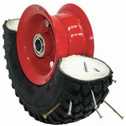 Foam filled wheels