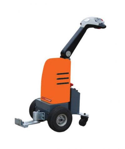 POWERED COMPACT PEDESTRIAN OPERATED TOW DEVICE