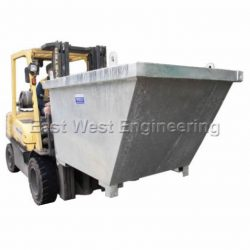 FORKLIFT SELF DUMPING TIPPING BINS