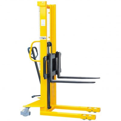 MANUAL FORK OVER STACKERS (FOR SKIDS)