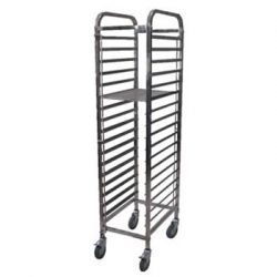 GASTRONORM TROLLEY 1/1 - 17 TRAY