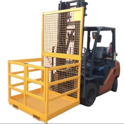 SAFETY CAGES - WORK PLATFORMS - GOODS & PALLET CAGES