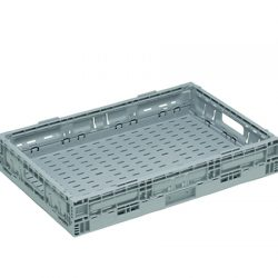 STACKING NALLY RETURNABLE FOLDING CRATE 17 LITRES