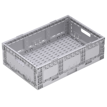 STACKING NALLY RETURNABLE FOLDING CRATES 33 LITRE