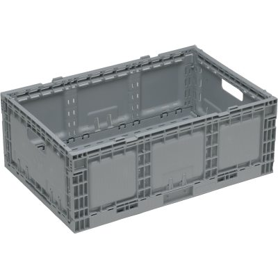 STACKING NALLY RETURNABLE FOLDING CRATES 41 LITRE